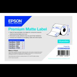 Étiquettes Epson C3400/C3500 Premium Matte Label