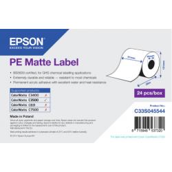 Étiquettes Epson C3500 PE Mates Label continu