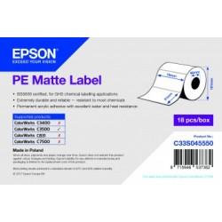 Étiquettes Epson C3500 PE Mates Label