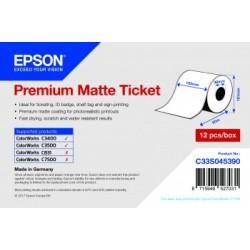 Rouleau d'étiquettes Premium Matte